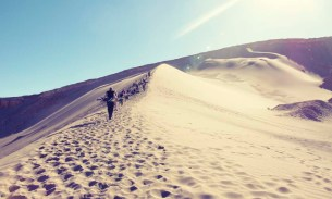 When fears become fun: sandboarding in San Pedro de Atacama