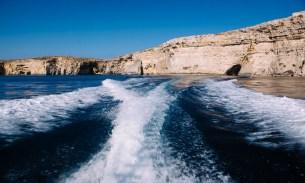 Meditation on blue in Malta