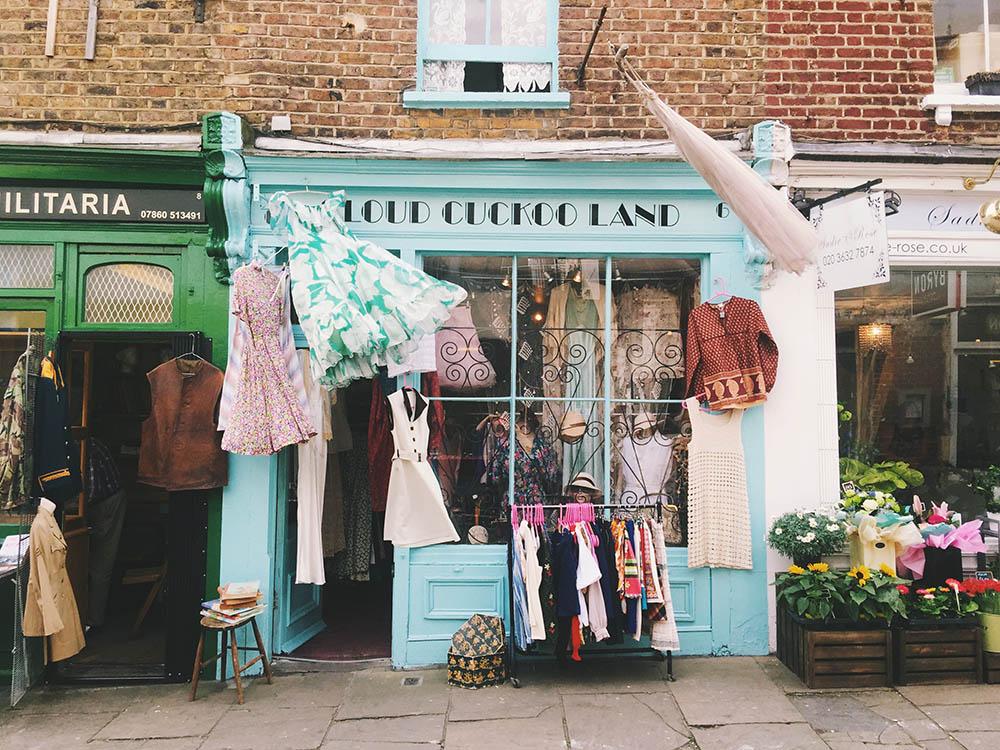 Camden Passage - The village feel in London