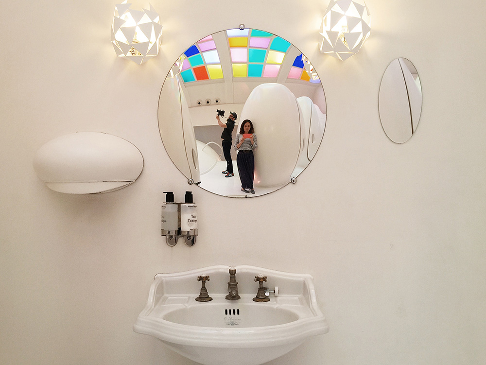 Insider Guide to London - Filming at Sketch toilets