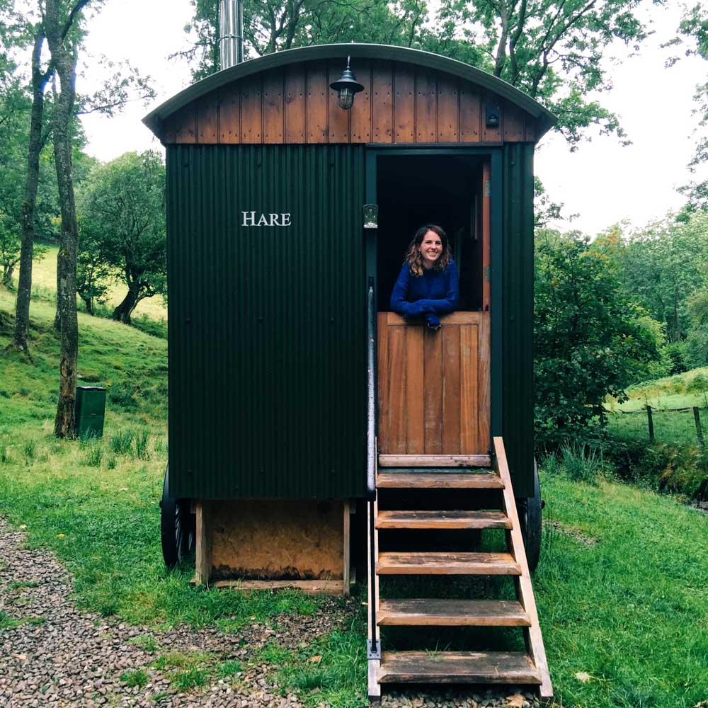 Huts in the Hills, off-grid Wales