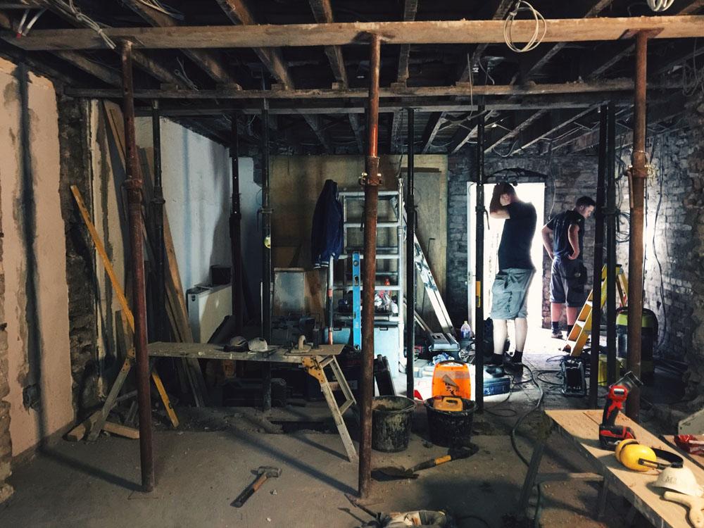 The chaos of renovation!