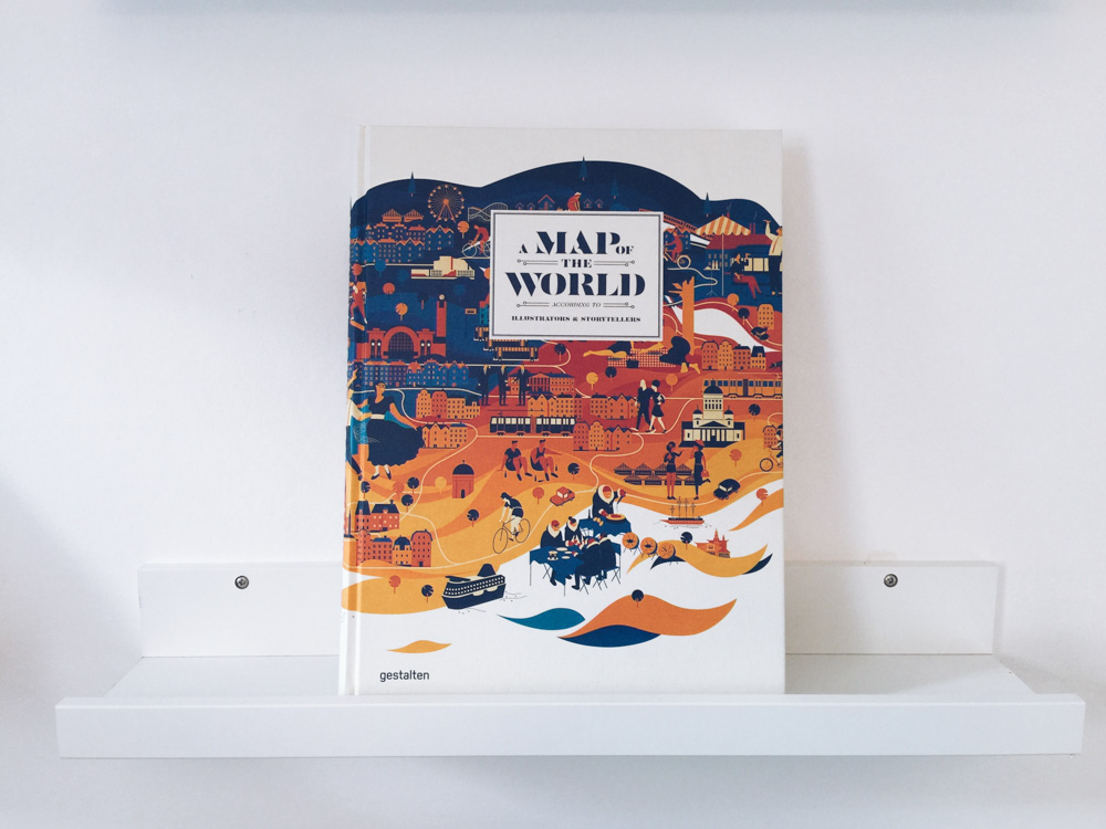 Christmas gift ideas for travel lovers - Illustrated map book