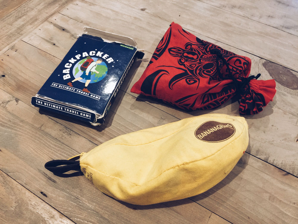Christmas gift ideas for travel lovers - games