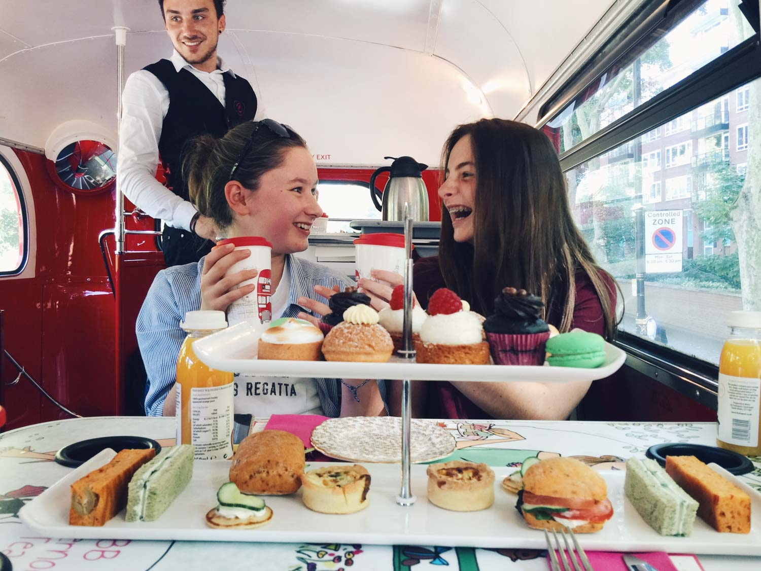 Best afternoon teas - BB Bakery Bus