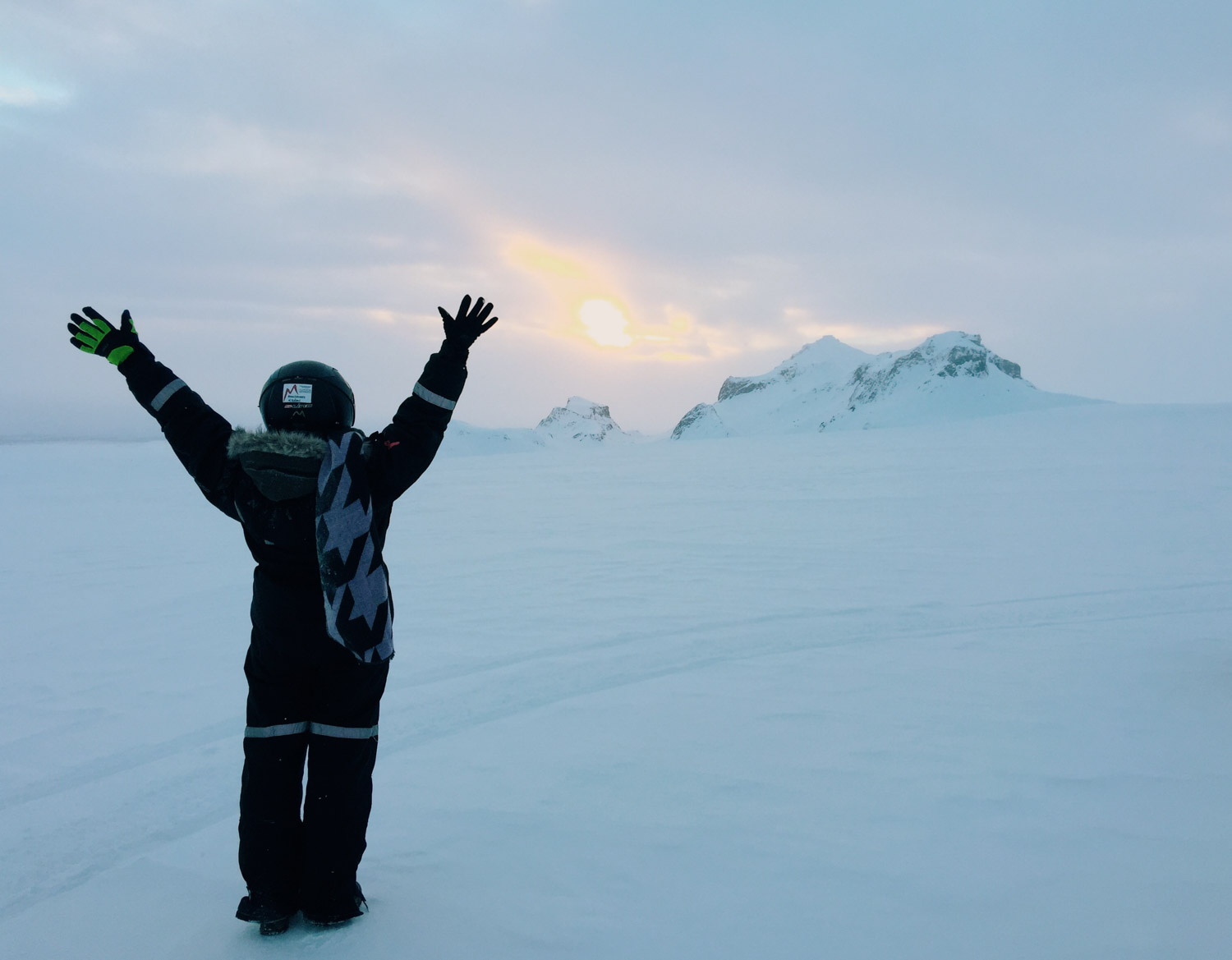 Iceland inspiration - Snowmobiling