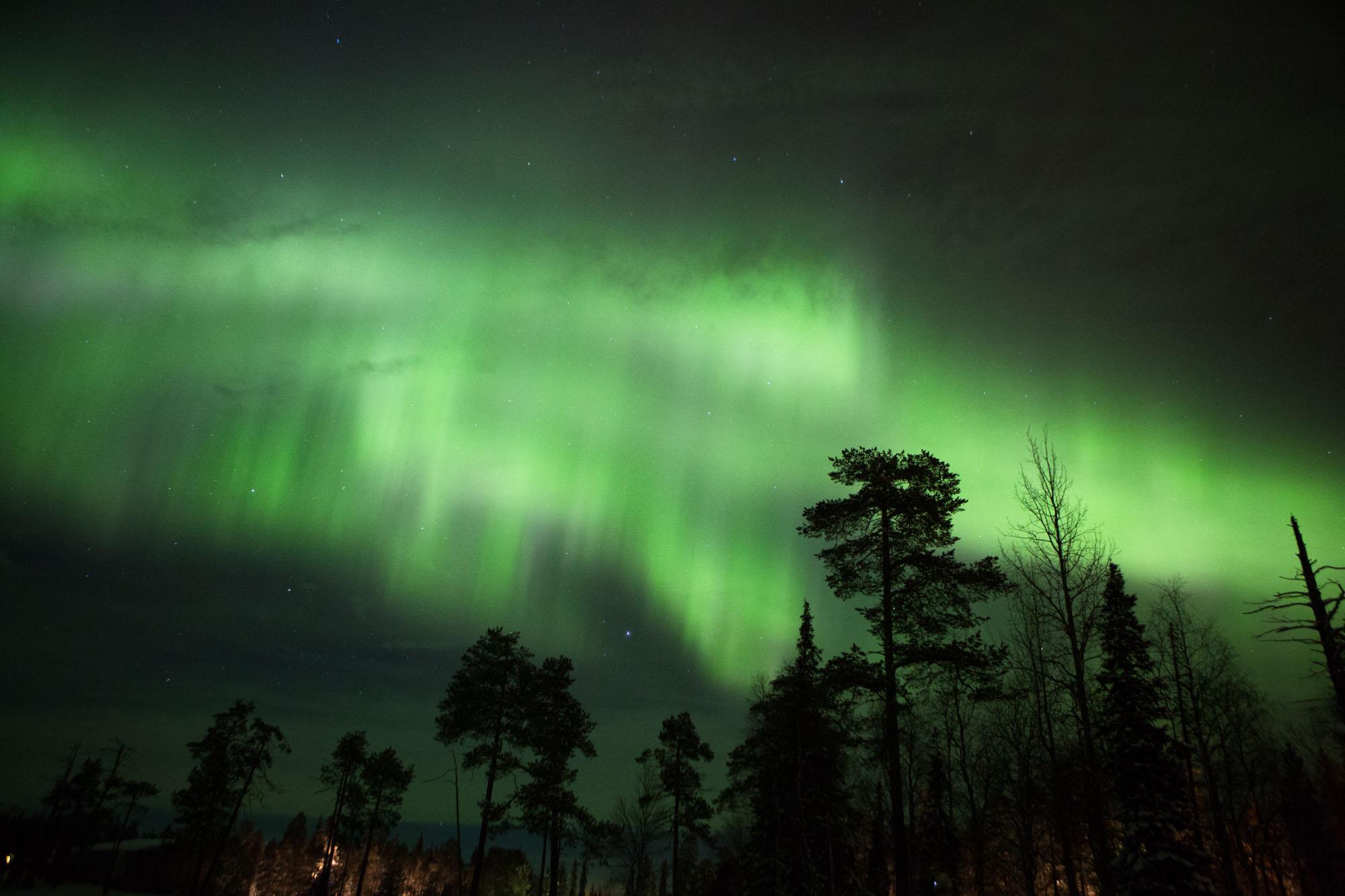Northern Lights, Luosto