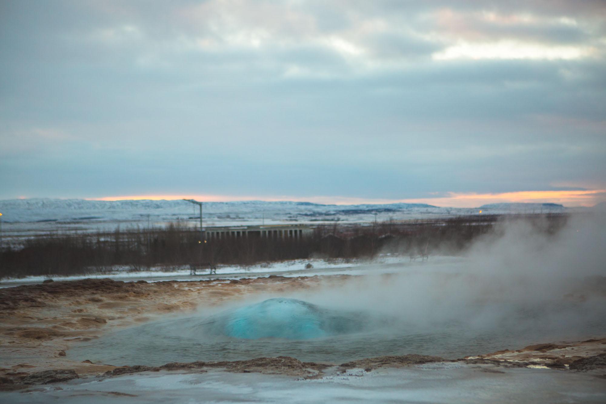 Iceland inspiration – Golden Circle – Geyser