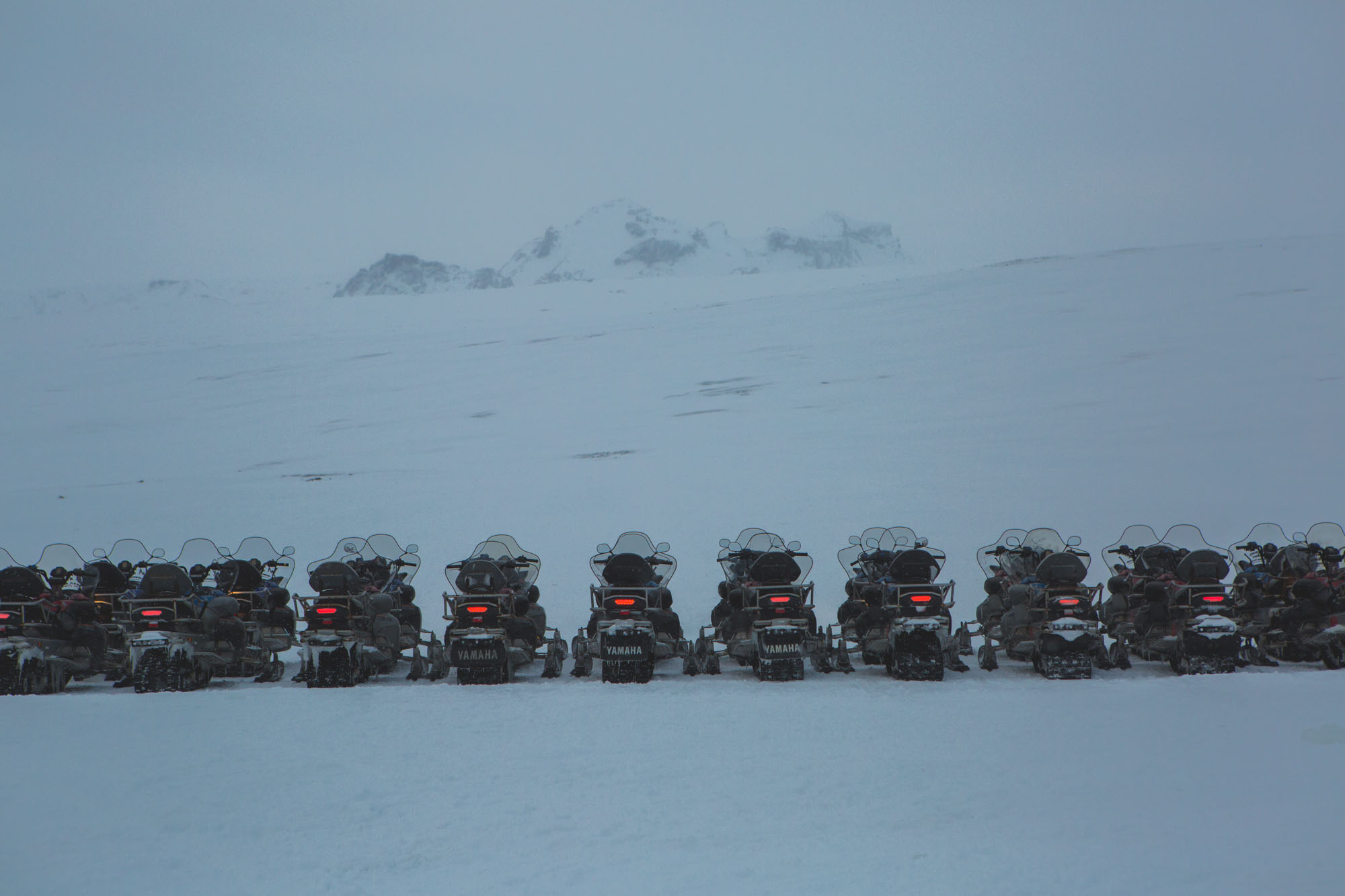 Iceland inspiration – Golden Circle – Snowmobiling
