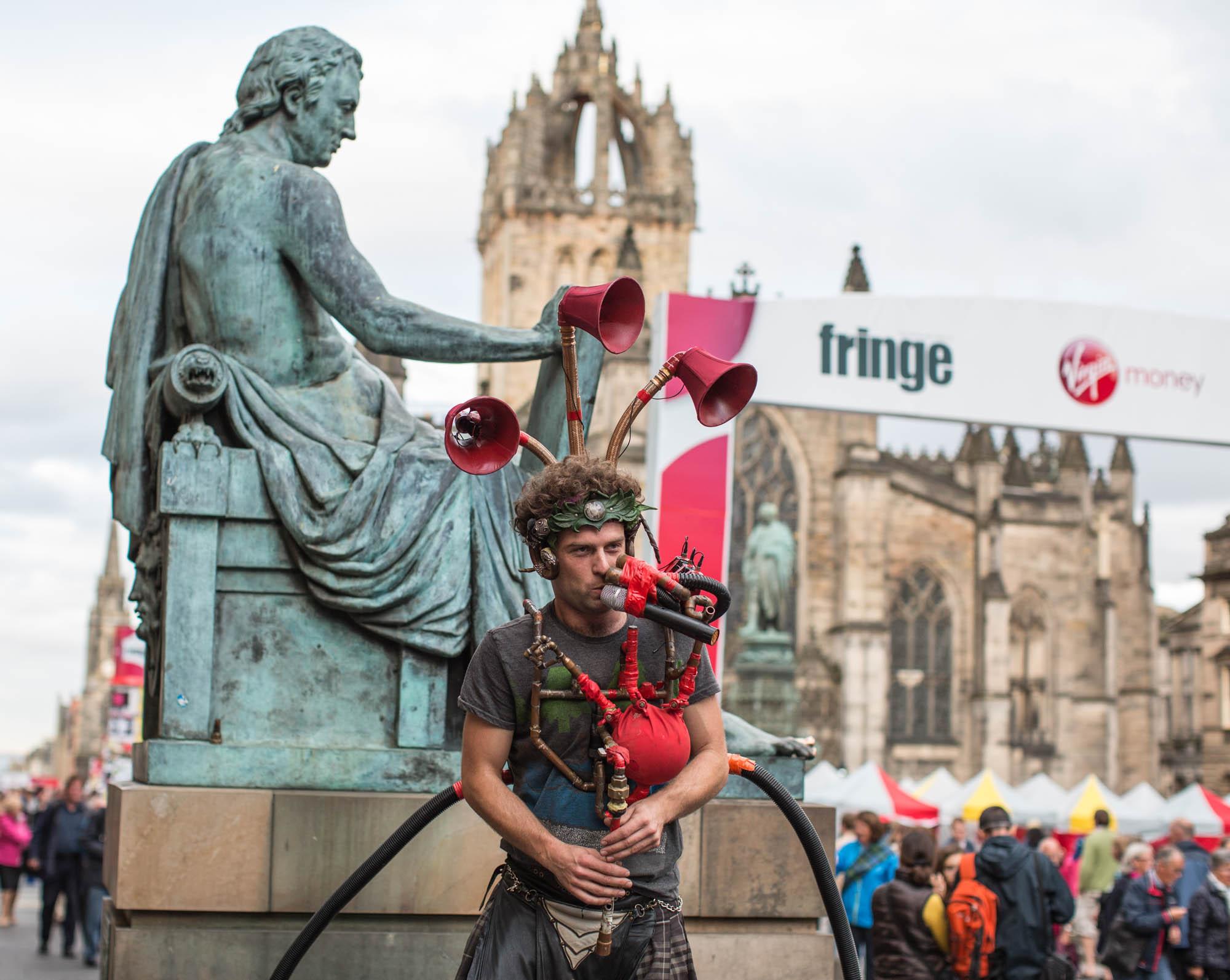Best UK arts festivals - Edinburgh Fringe