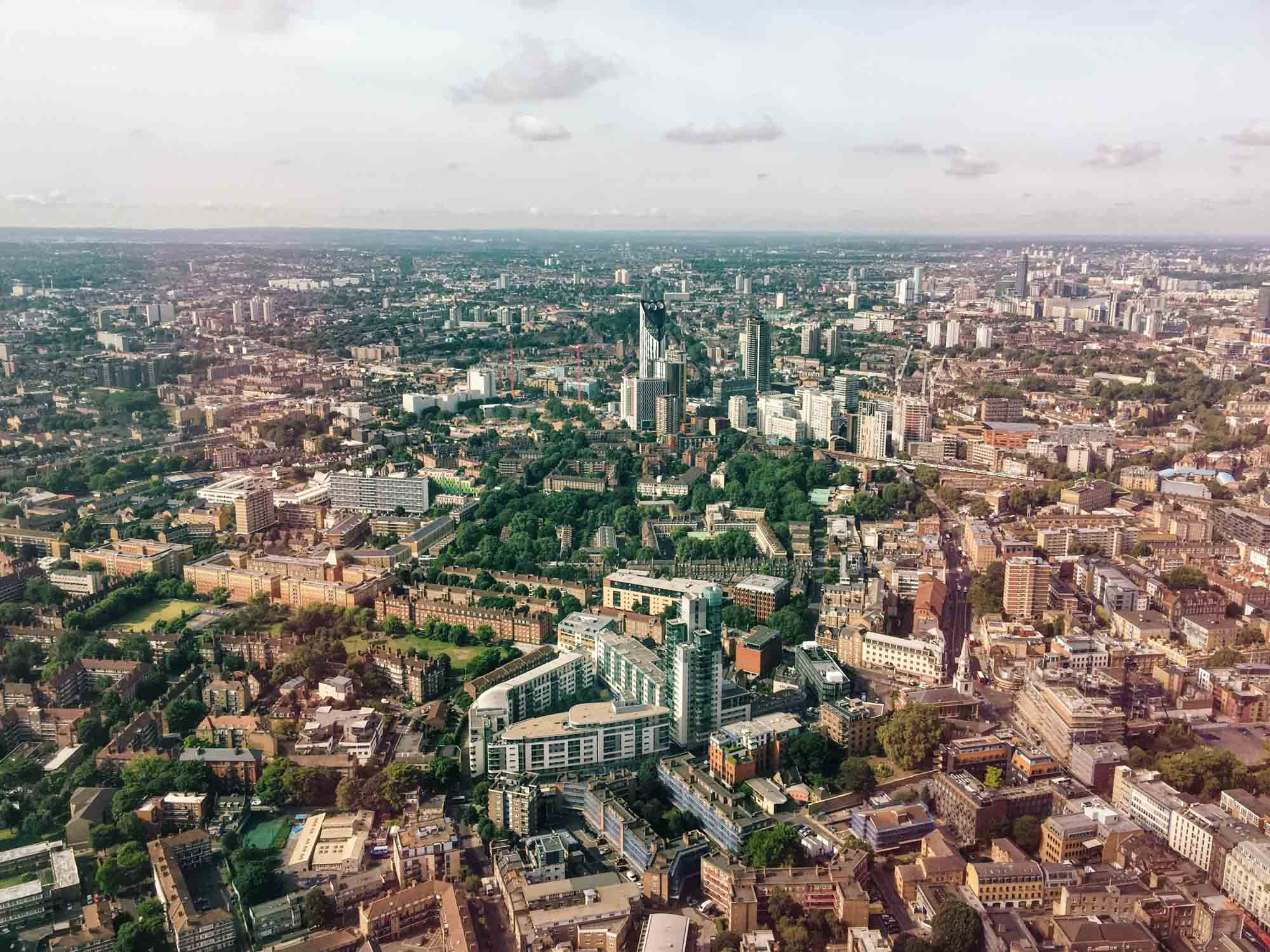 Best views in London - The Shard