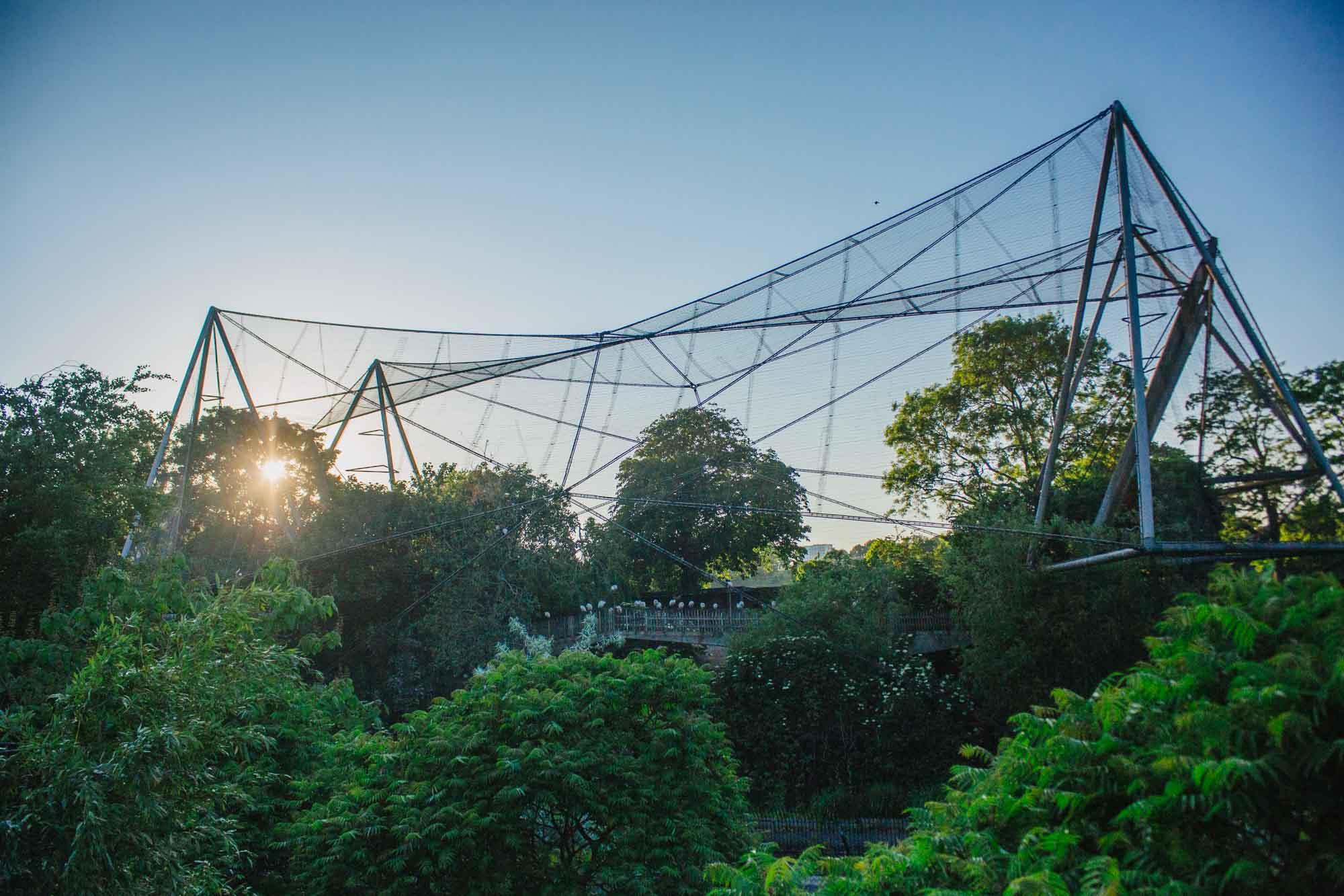 London Zoo bird aviary