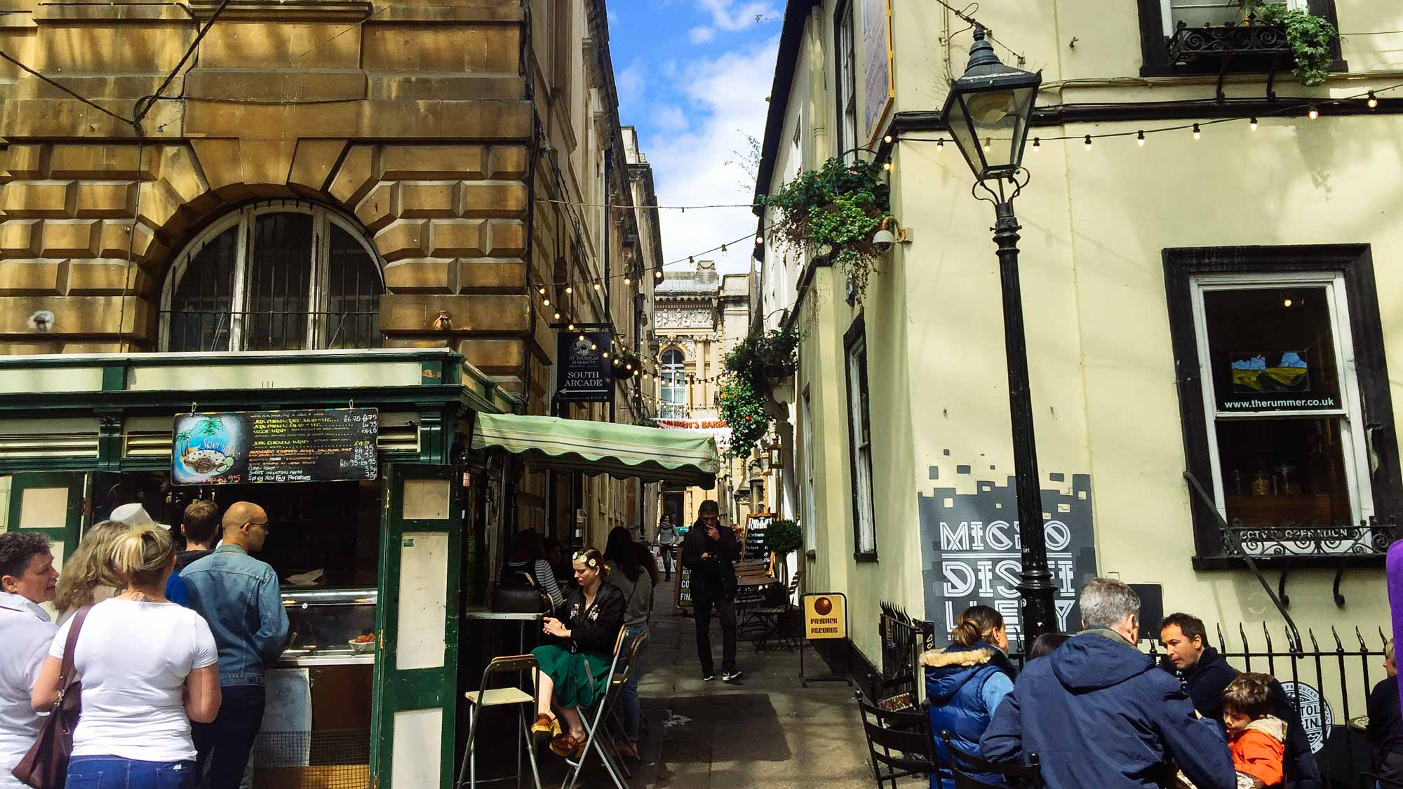 Things to do in Bristol -St.Nick's Market