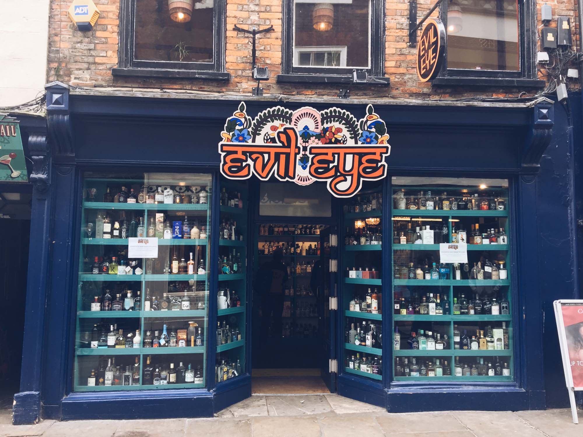 Best things to do in York - 365 pubs - Evil Eye Lounge