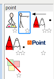 symbols for point