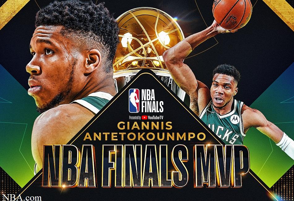 Giannis Wins NBA Finals MVP