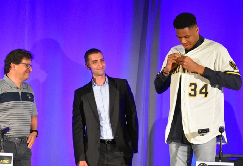 Giannis Buys Stake in Milwaukee Brewers