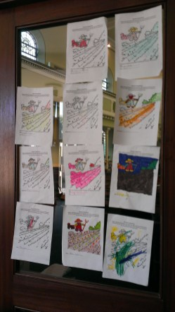 Children's Harvest Colouring Competition