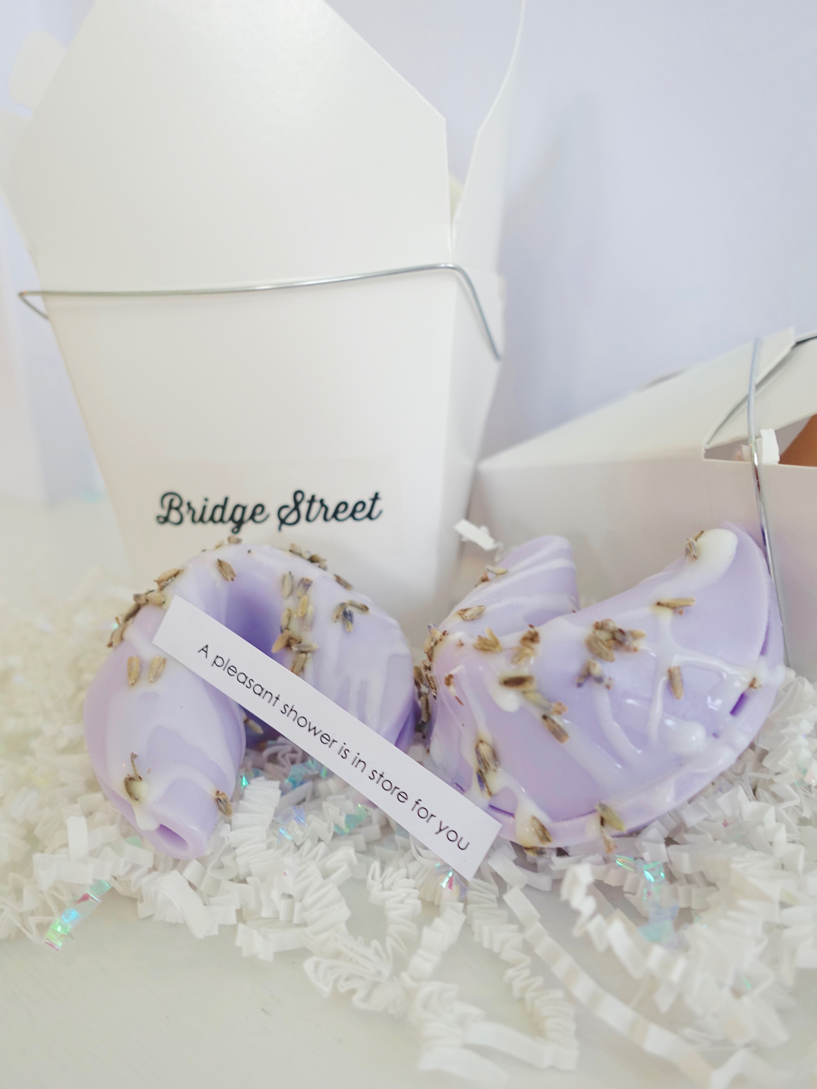 Lavender Fortune Cookie Soap - Bridge Street Soap & Aromatherapy