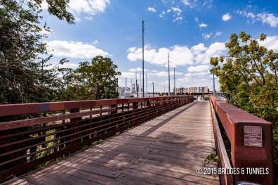 Katy Railroad and Lance Armstrong Bikeway Bridge