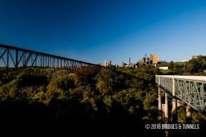 Tyrone Bridge (US 62), Young's High Bridge (Louisville Southern Railway)