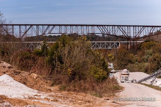 Young's High Bridge (Louisville Southern Railway)