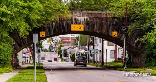 Columbus, Piqua & Indiana Railroad Overpasses