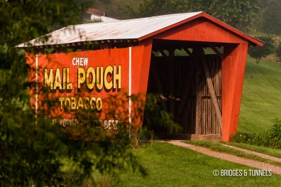 Mail Pouch Tobacco Covered Bridge