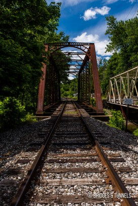 Sugar Creek Bridge (Atlantic & Great Western Railway)