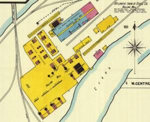 1899 Sanborn Insurance Company Map