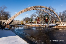 Au Gres Pedestrian Bridge