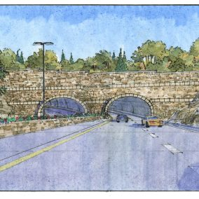 Lewis and Clark BridgeHarrods Creek Tunnel Rendering