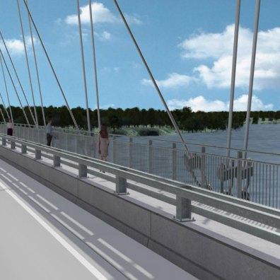 Lake Barkley Bridge Rendering
