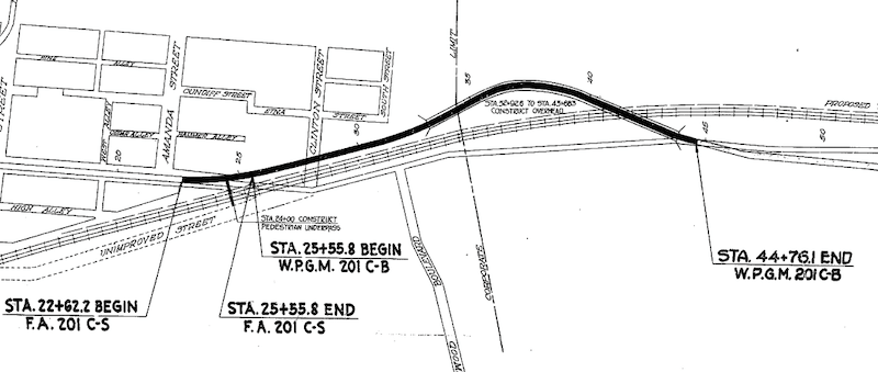 Russell Viaduct Layout