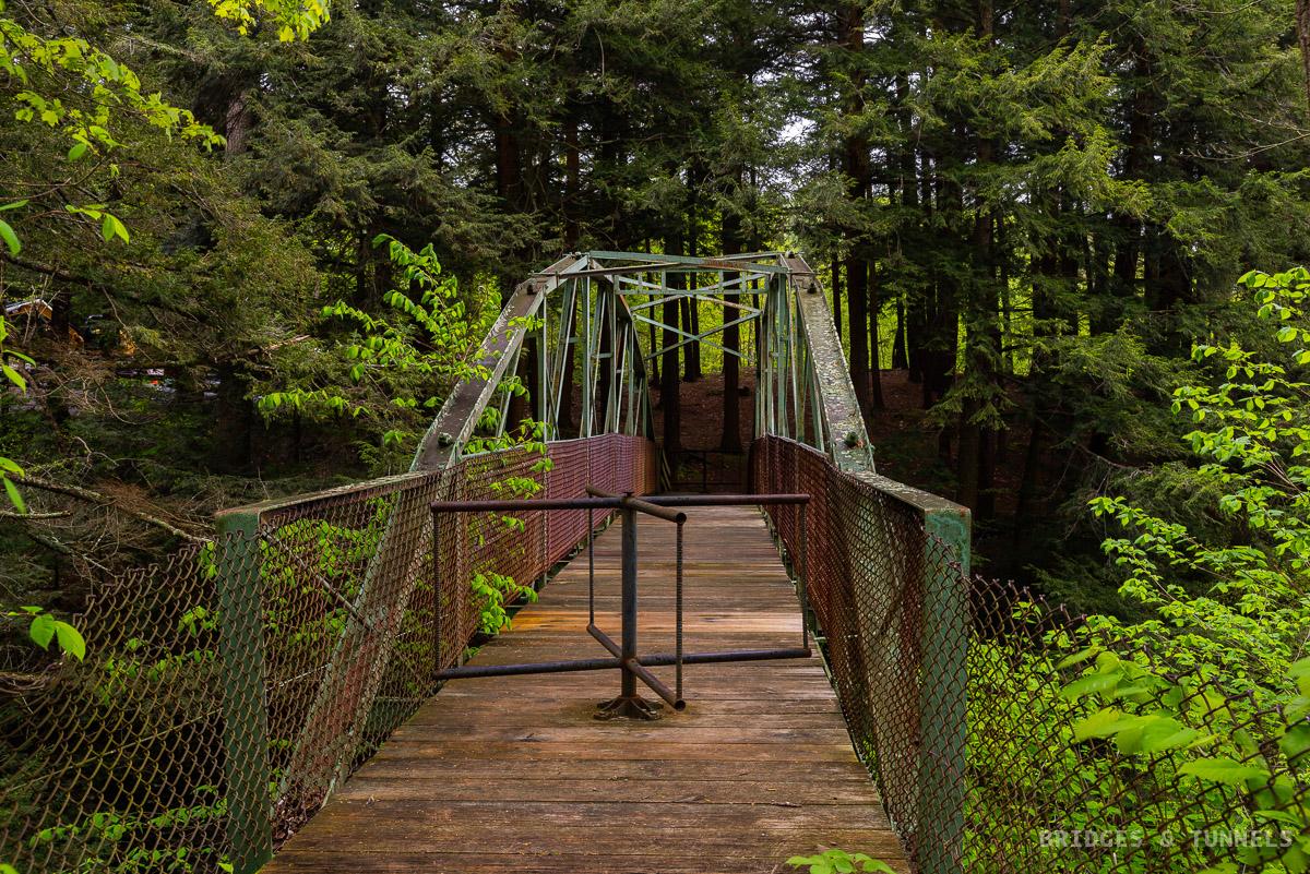 Rexford Falls Pedestrian Bridge
