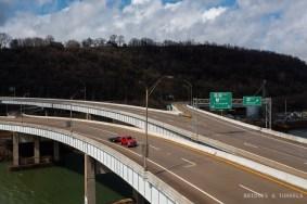 Jennings Randolph Memorial Bridge Ohio Approach