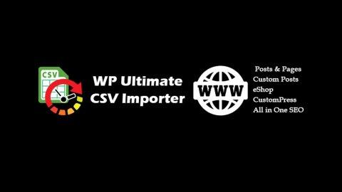 Hướng dẫn import dữ liệu từ file CSV/XML vào Custom Fields WordPress