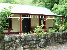 Our lovely cottage in Arrowtown