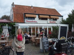 Lots of cafes to stop for cake and beer