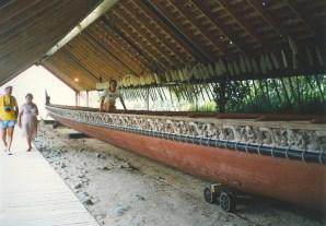Waka at Waitangi