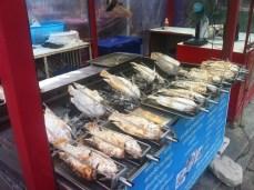 My fish dinner one night in Kata Beach