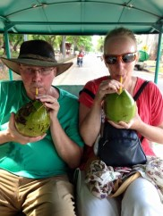 Rehydrate when touring the temples