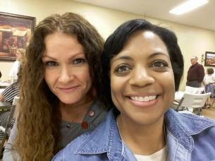 Shereta and Natasha