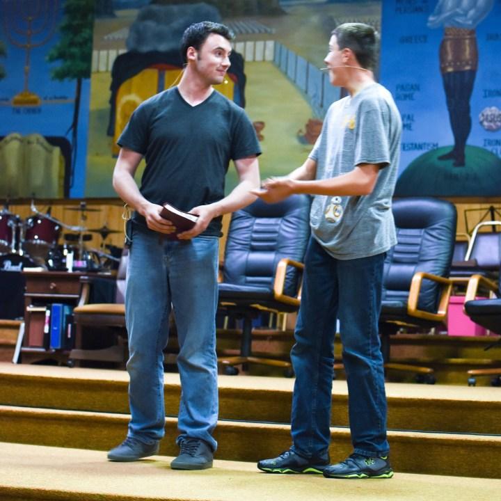 Pilgrim Rehearsal 3