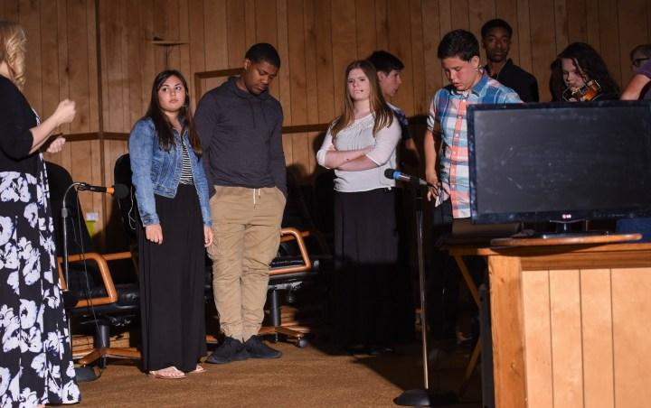 Pilgrim Rehearsal 7