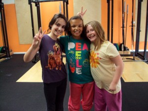 Bridgetown CrossFit Kids Girls
