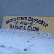 BCBC Sign in snow