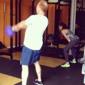 KB Swings CrossFit WOD Bridgetown Barbell Portland OR
