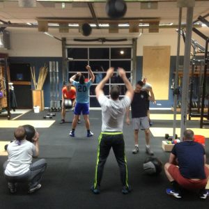 Wall Ball Bridgetown CrossFit WOD Portland OR