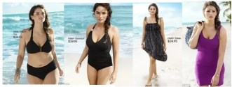 h&m plus size bathing suits
